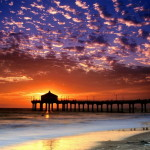 Wooden-Bridge-to-the-Sea-at-Sunset